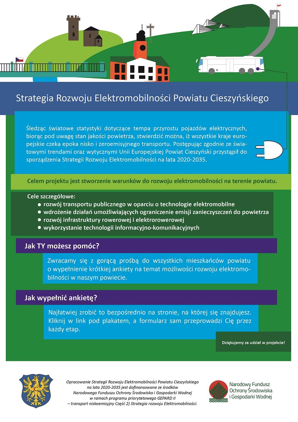 Strategia Rozwoju Elektromobilności Powiatu Cieszyńskiego na lata 2020-2035