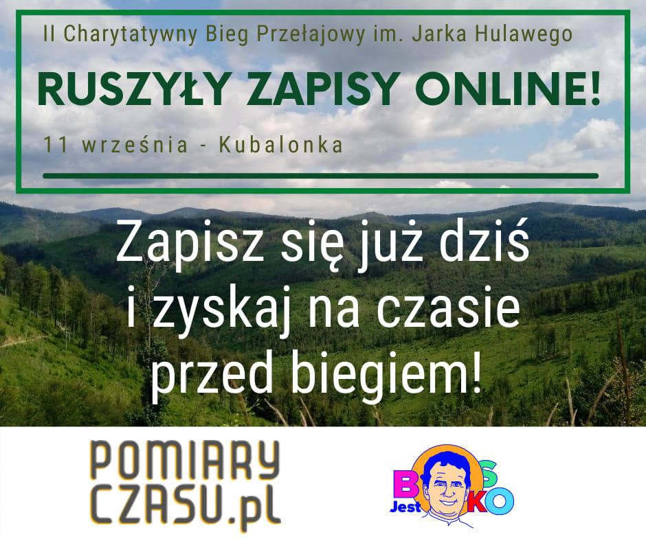 II Charytatywny Bieg Przełajowy im. Jarka Hulawego