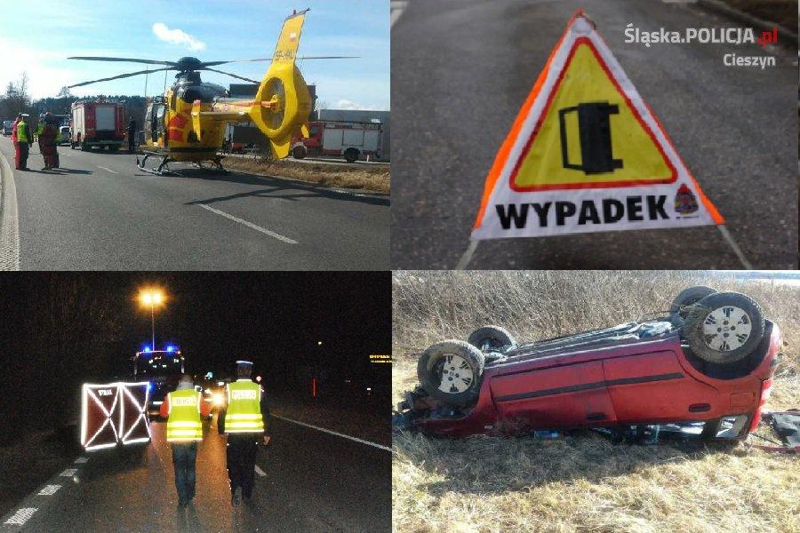 Dwa tragiczne wypadki w Ustroniu. Policja szuka świadków.