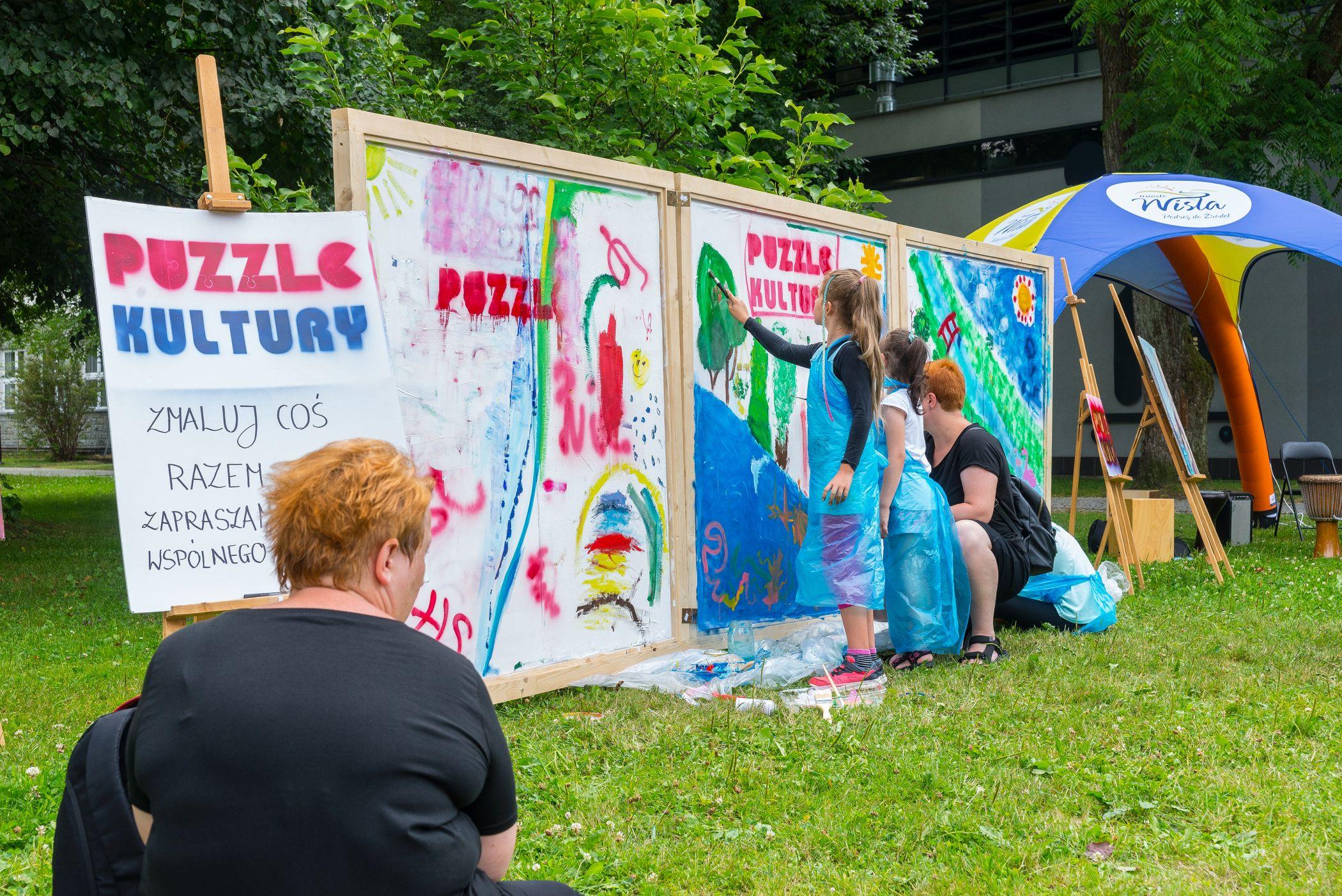 Festiwal sztuki ulicznej w Wiśle