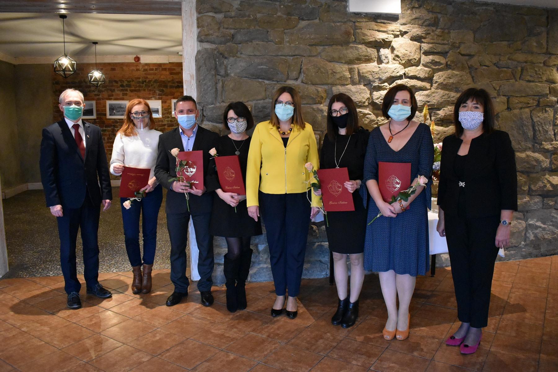 Nagrody na Dzień Edukacji Narodowej w Istebnej