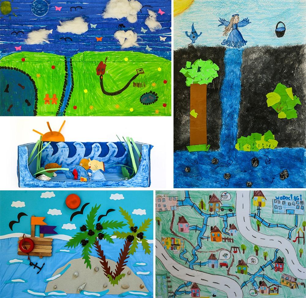 Woda, wystawa i młodzi artyści w Wodociągach Ziemi Cieszyńskiej