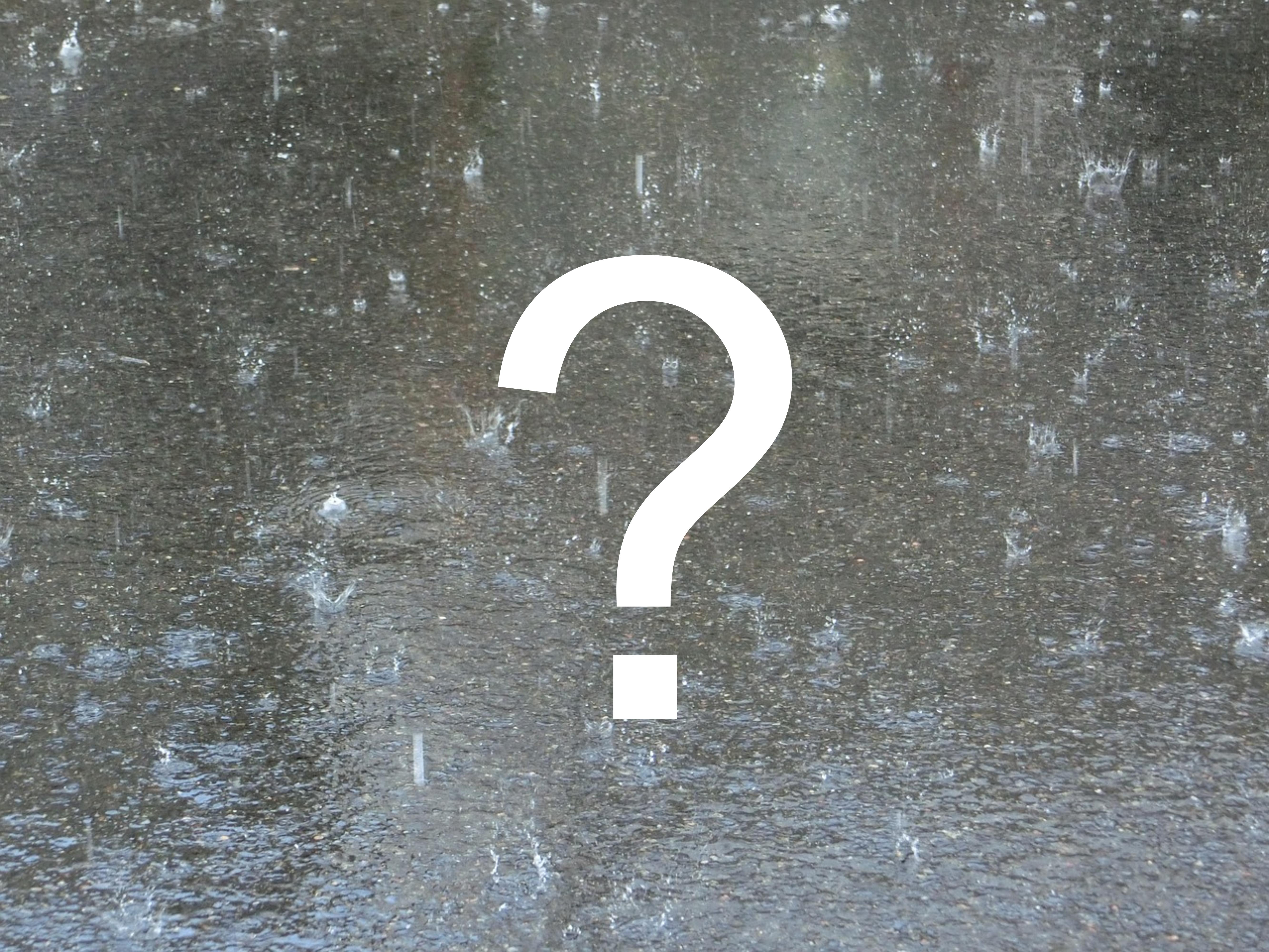 Gdzie spadło najwięcej deszczu ?