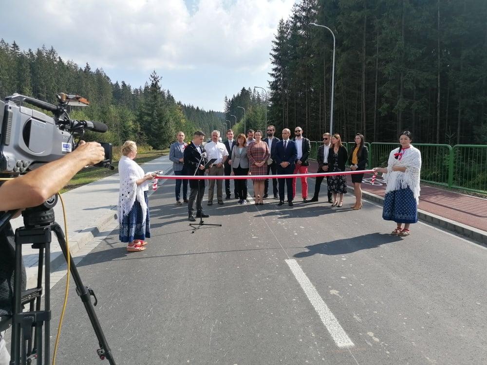 Otwarcie drogi gminnej na Zaolzie