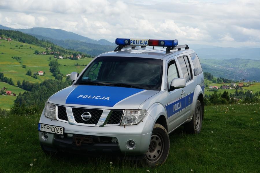 Wypadek paralotni i inne policyjne zdarzenia