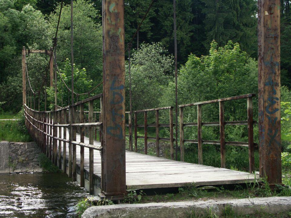 Brak przejścia przez most