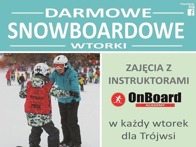 Darmowe snowboardowe wtorki