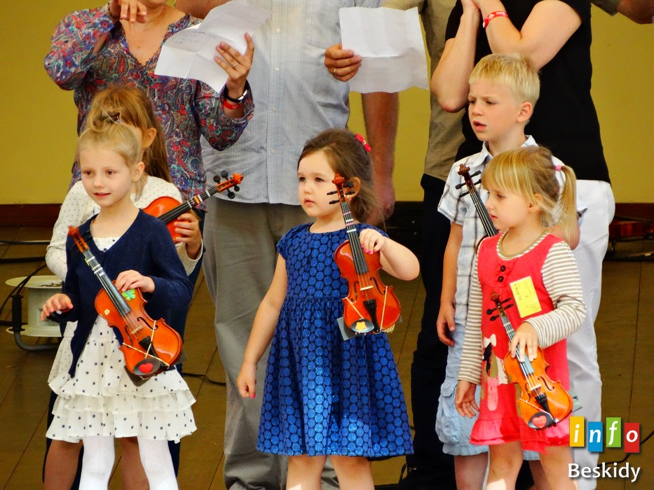 Koncert Dzieci Suzuki na wiślańskim amfiteatrze