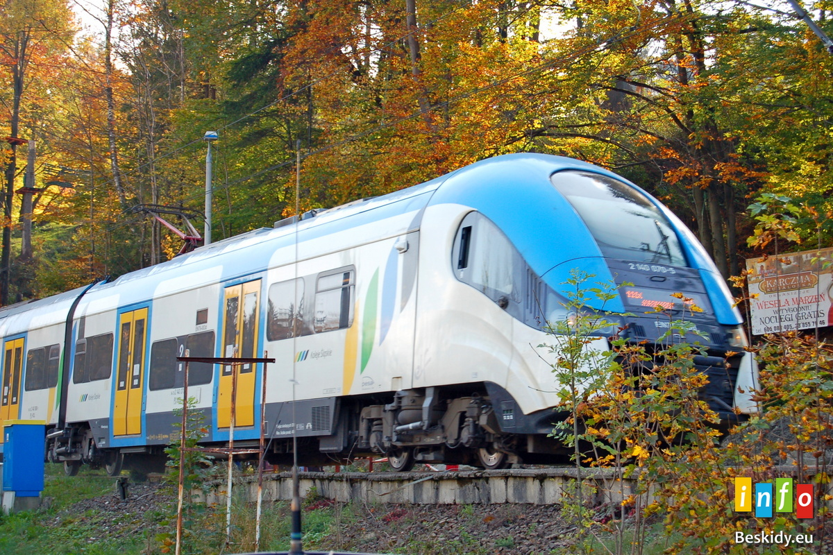 Darmowy pociąg Ustroń - Wisła