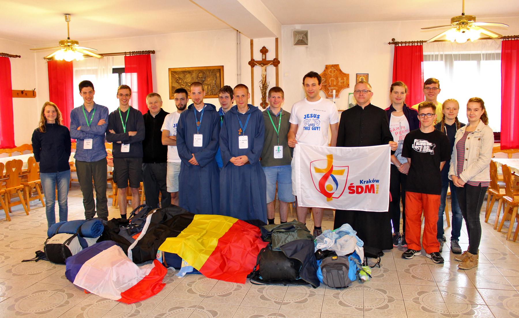 Pierwsi pielgrzymi na ŚDM w Istebnej