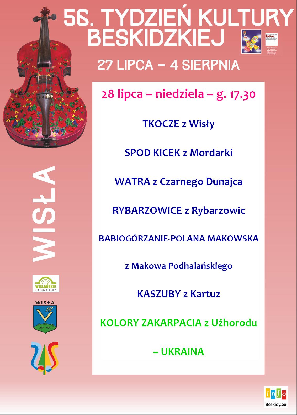 II dzień TKB program występów
