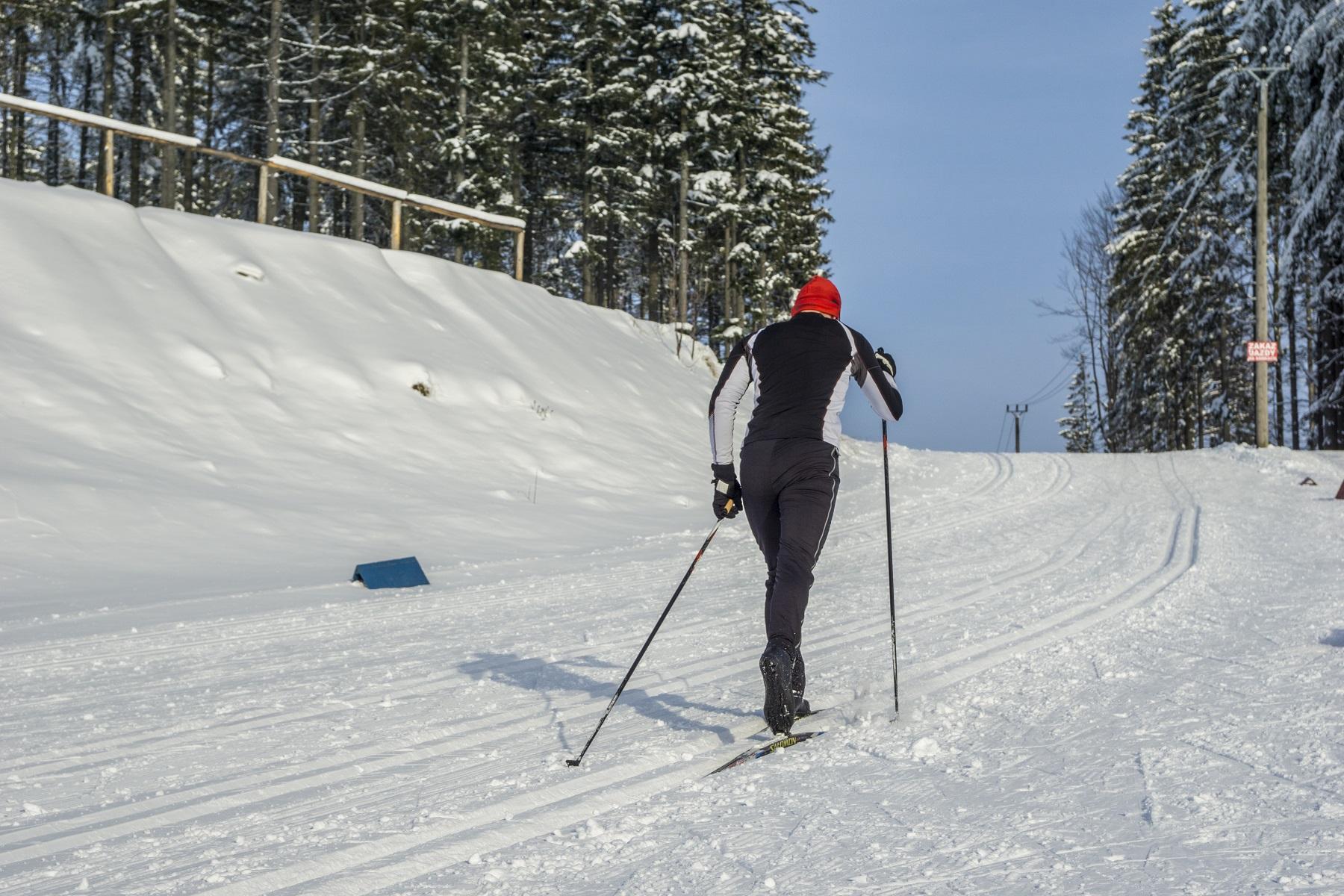 Pierwsze zawody narciarskie o Puchar Wisły