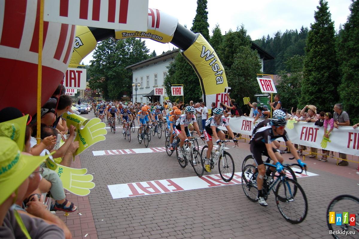 Wszystko o Tour de Pologne  w Beskidach
