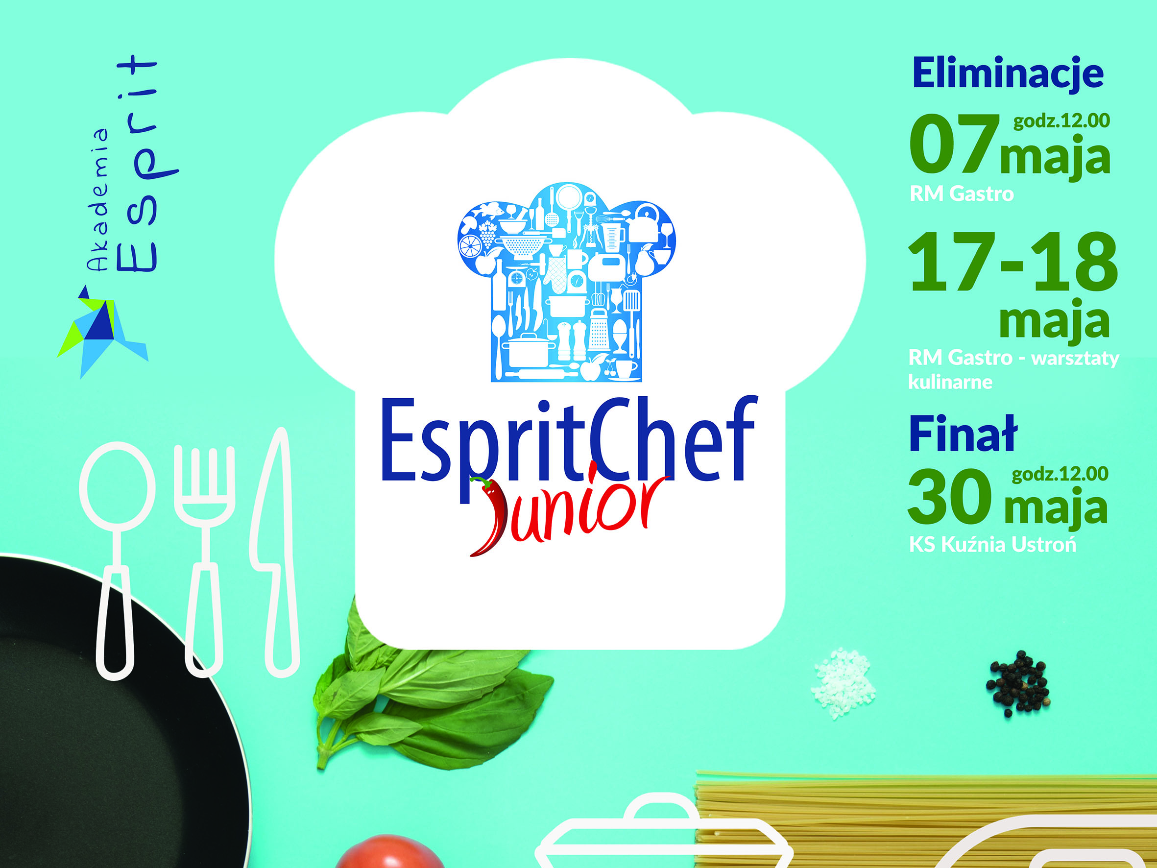 Ostatni dzień zapisów do EspritChef Junior