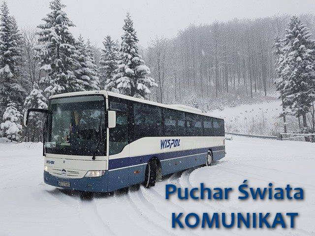 Komunikacja autobusowa i dojazd na Puchar Świata