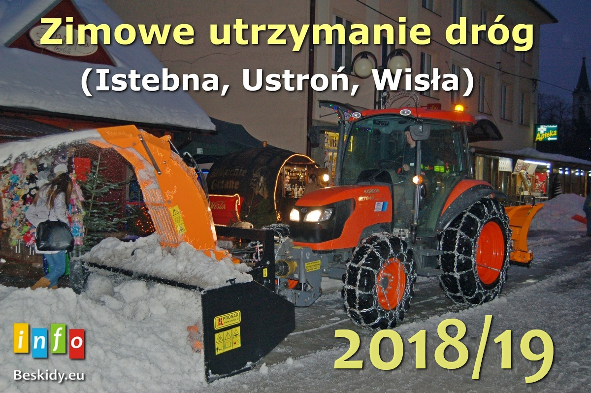 Kto i gdzie odśnieża ? sezon zimowy 2018/19