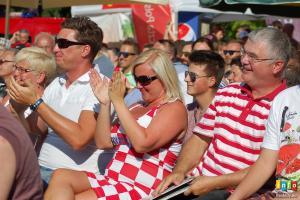 Strefa kibica i finał Francja - Chorwacja