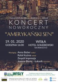 Burmistrz zaprasza na koncert noworoczny