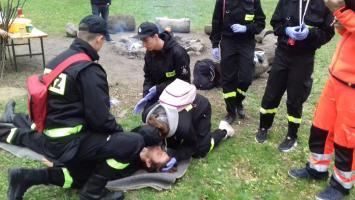 Sukcesy młodych strażaków