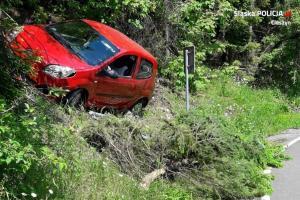 Groźnie wygladający wypadek