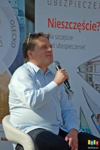 Bogdan Rymanowski na zakończenie Lata z Książką