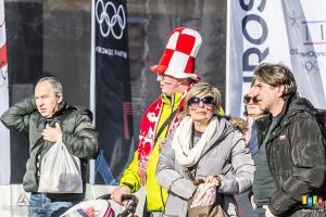 Konkurs drużynowy w Strefie Kibca Eurosportu