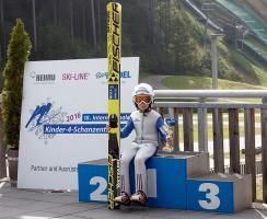 Tymek Cienciała na podium