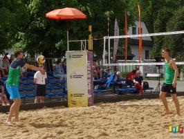 Siatkówka plażowa fotorelacja z sobotniego poranka
