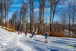 Fotorelacja z II Zimowego wejścia na Czantorię w krótkich gaciach