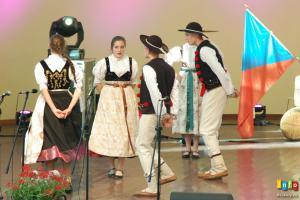 Występ Zespołu Wisła podczas Święta Sąsiada