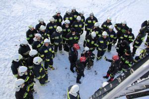 Akcja ratownicza na wyciągu