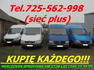 kupię mercedesa Sprintera 208 210 212 213 216 308