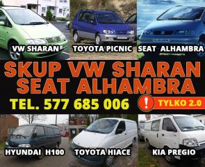 KUPIĘ PILNIE VW SHARAN SEAT ALHAMBRA 2.0 B